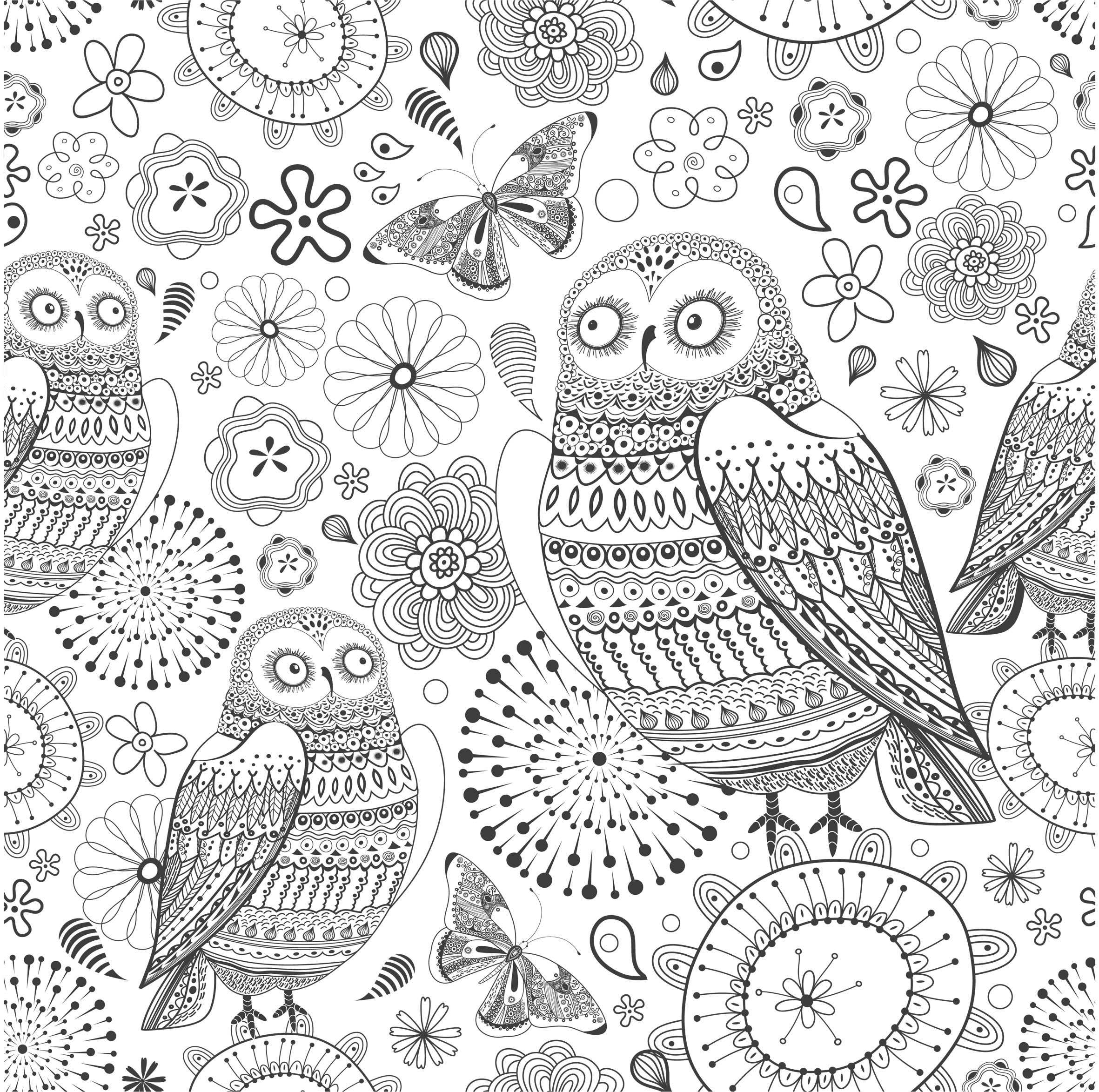 Anti Stress Book Coloring Pages